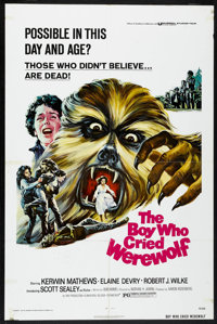 "The Boy Who Cried Werewolf (Universal, 1973). One Sheet (27"" X 41""). Horror"
