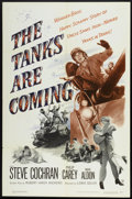 "Movie Posters:War, The Tanks are Coming (Warner Brothers, 1951). One Sheet (27"" X41""). War.. ..."