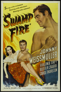 "Swamp Fire (Paramount, 1946). One Sheet (27"" X 41"") Style A. Adventure"