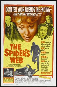 """The Spider's Web (United Artists, 1961). One Sheet (27"""" X 41""""). Mystery"""