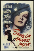 """Movie Posters:Musical, Shine on Harvest Moon (Warner Brothers, 1944). One Sheet (27"""" X 41""""). Musical.. ..."""