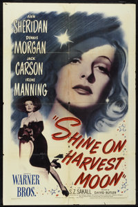 """Shine on Harvest Moon (Warner Brothers, 1944). One Sheet (27"""" X 41""""). Musical"""