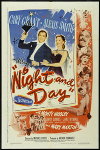 "Night and Day (Warner Brothers, 1946). One Sheet (27"" X 41""). Musical"