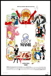 """Mame (Warner Brothers, 1974). One Sheet (27"""" X 41""""). Musical"""