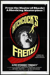 "Frenzy (Universal, 1972). One Sheet (27"" X 41""). Hitchcock"