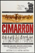 """Movie Posters:Western, Cimarron (MGM, 1960). One Sheet (27"""" X 41"""") Style A. Western.. ..."""