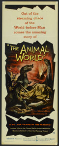 "Movie Posters:Documentary, The Animal World (Warner Brothers, 1956). Insert (14"" X 36""). Documentary.. ..."