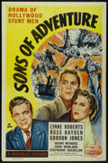 "Movie Posters:Adventure, Sons of Adventure (Republic, 1948). One Sheet (27"" X 41""). Adventure.. ..."