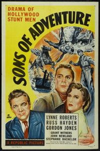 "Sons of Adventure (Republic, 1948). One Sheet (27"" X 41""). Adventure"
