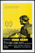 "Movie Posters:Drama, Easy Rider (Columbia, 1969). One Sheet (27"" X 41""). Drama.. ..."