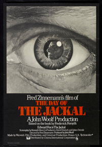 "The Day of the Jackal (Cinema International, 1973). British One Sheet (27"" X 40""). Thriller"