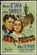 """Movie Posters:Drama, The Man from Frisco (Republic, 1944). One Sheet (27"""" X 41""""). Drama.. ..."""