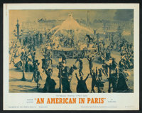"""An American in Paris Lot (MGM, R-1963). Lobby Cards (2) (11"""" X 14""""). Musical. ... (Total: 2 Items)"""