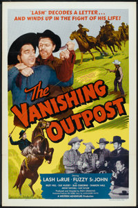 """The Vanishing Outpost (Western Adventures Pictures, 1951). One Sheet (27"""" X 41""""). Western"""