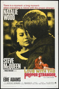 """Love with the Proper Stranger (Paramount, 1964). One Sheet (27"""" X 41""""). Romance"""