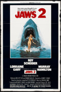 "Movie Posters:Horror, Jaws 2 (Universal, 1978). One Sheet (27"" X 41""). Horror.. ..."