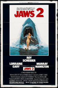 "Jaws 2 (Universal, 1978). One Sheet (27"" X 41""). Horror"