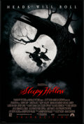 "Movie Posters:Fantasy, Sleepy Hollow (Paramount, 1999). One Sheet (27"" X 40"") DS Advance. Fantasy.. ..."