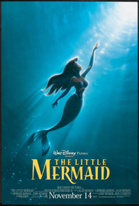 """The Little Mermaid (Buena Vista, R-1997). One Sheet (27"""" X 40"""") DS Advance. Animated"""