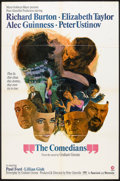 """Movie Posters:Drama, The Comedians (MGM, 1967). One Sheet (27"""" X 41"""") Style B. Drama.. ..."""