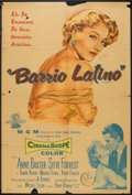 """Movie Posters:Crime, Bedevilled (MGM, 1956). Argentinean Poster (29"""" X 43""""). Crime.. ..."""