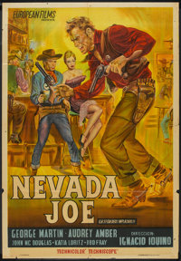 """Guns of Nevada (IFISA, 1964). Argentinean Poster (29"""" X 43""""). Western"""