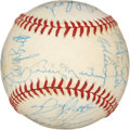 Autographs:Baseballs, 1977 American League All Star Game Team Signed Baseball....