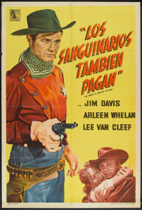 """The Badge of Marshal Brennan (Allied Artists, 1957). Argentinean Poster (29"""" X 43""""). Western"""