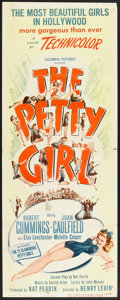 """Movie Posters:Comedy, The Petty Girl (Columbia, 1950). Insert (14"""" X 36""""). Comedy.. ..."""