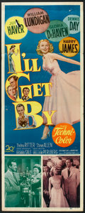 "Movie Posters:Musical, I'll Get By (20th Century Fox, 1950). Insert (14"" X 36""). Musical.. ..."
