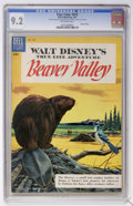 Golden Age (1938-1955):Miscellaneous, Four Color #625 Beaver Valley (Dell, 1955) CGC NM- 9.2 Off-white pages....