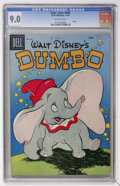 Golden Age (1938-1955):Funny Animal, Four Color #668 Dumbo (Dell, 1955) CGC VF/NM 9.0 Off-whitepages....