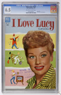 Golden Age (1938-1955):Miscellaneous, Four Color #535 I Love Lucy (Dell, 1954) CGC FN+ 6.5 Off-white to white pages....