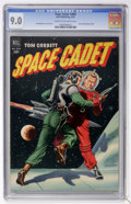 Golden Age (1938-1955):Miscellaneous, Four Color #400 Tom Corbett, Space Cadet (Dell, 1952) CGC VF/NM 9.0 Cream to off-white pages....