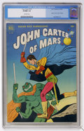 Golden Age (1938-1955):Science Fiction, Four Color #375 John Carter of Mars (Dell, 1952) CGC VF/NM 9.0Off-white pages....