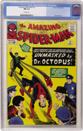 Silver Age (1956-1969):Superhero, The Amazing Spider-Man #12 (Marvel, 1964) CGC NM 9.4 Off-whitepages....