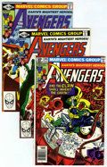Modern Age (1980-Present):Superhero, The Avengers #205-272 Group (Marvel, 1981-86) Condition: AverageNM.... (Total: 69)