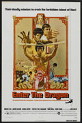 "Movie Posters:Action, Enter the Dragon (Warner Brothers, 1973). One Sheet (27"" X 41""). Action. Starring Bruce Lee, John Saxon, Kien Shih, Ahna Cap..."