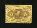 Fractional Currency:First Issue, Fr. 1228 5c First Issue About New....