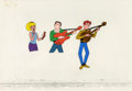 "Animation Art:Production Cel, ""The New Archie/Sabrina Hour"" Animation Cel Original Art, Group of6 (Filmation, 1977). ... (Total: 6)"