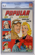 Golden Age (1938-1955):Cartoon Character, Popular Comics #76 Lost Valley pedigree (Dell, 1942) CGC VF+ 8.5Cream to off-white pages....