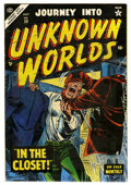 Golden Age (1938-1955):Horror, Journey Into Unknown Worlds #29 (Atlas, 1954) Condition: VF+....