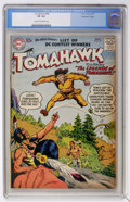 Silver Age (1956-1969):Adventure, Tomahawk #48 Mohawk Valley pedigree (DC, 1957) CGC VF 8.0 Cream to off-white pages....