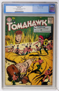 Silver Age (1956-1969):Adventure, Tomahawk #54 Mohawk Valley pedigree (DC, 1958) CGC VF 8.0 Cream to off-white pages....
