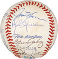 Autographs:Baseballs, 1991 Milwaukee Brewers Team Signed Baseball....
