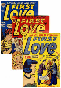 First Love Illustrated File Copies Box Lot (Harvey, 1949-63) Condition: Average VF+