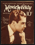 "Movie Posters:Miscellaneous, Movie Weekly (April 12, 1924). Magazine (31 Pages, 9.25"" X 12.25""). Miscellaneous.. ..."
