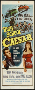 "Movie Posters:Drama, High School Caesar Lot (Film Group, 1960). Insert (14"" X 36"") and Still (8"" X 10""). Drama.. ... (Total: 2 Items)"