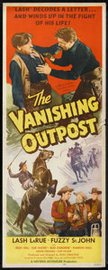 "Movie Posters:Western, The Vanishing Outpost (Western Adventures Pictures, 1951). Insert (14"" X 36""). Western.. ..."