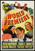 """Movie Posters:Comedy, World Premiere (Paramount, 1941). One Sheet (27"""" X 41""""). Comedy.. ..."""